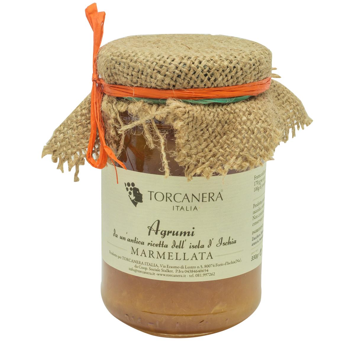 Marmellata agrumi torcanera