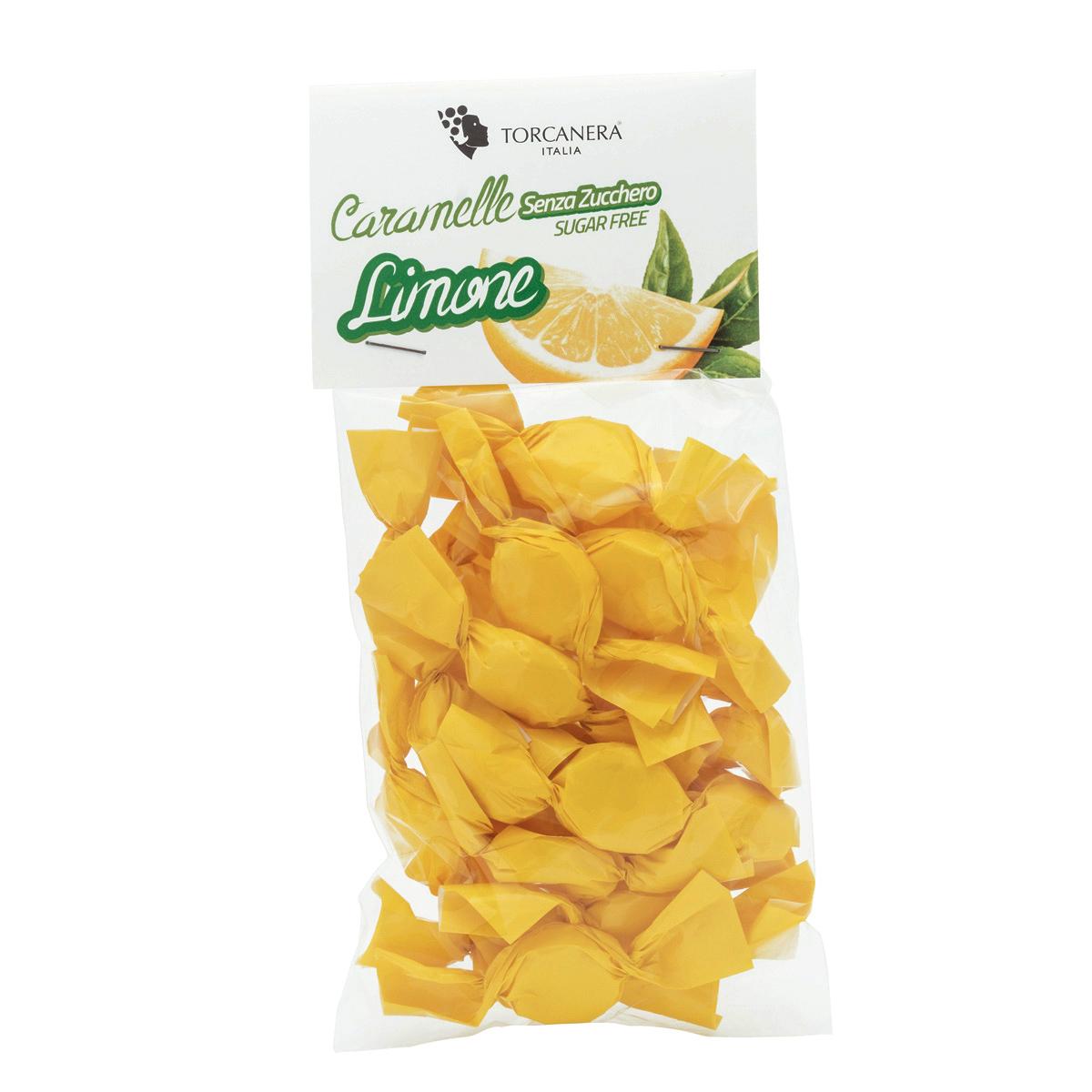 Caramelle al Limone senza Zucchero