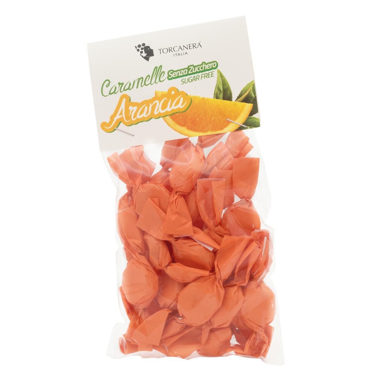 Caramelle all'Arancia Senza Zucchero