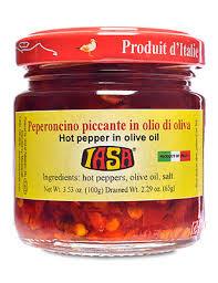 Peperoncino Piccante In Olio di Oliva