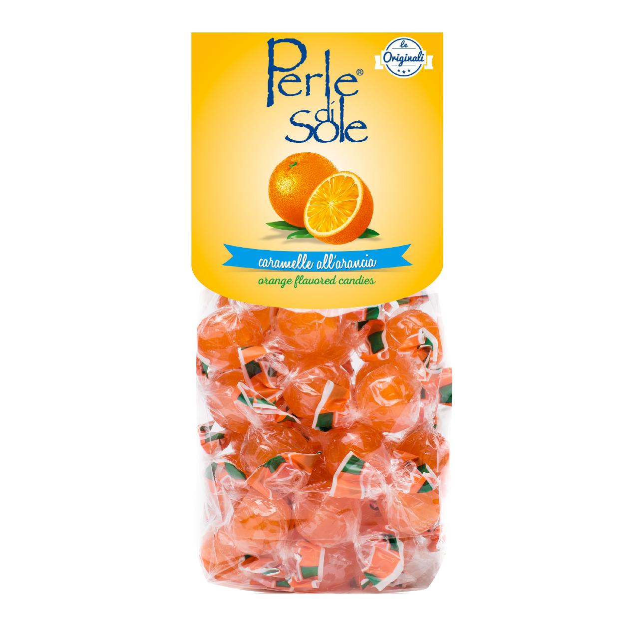 Caramelle all'arancia