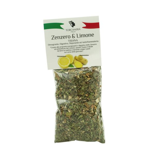 Tisana Zenzero e Limone Torcanera