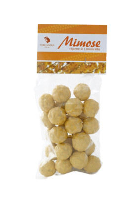 Fior di Mimosa ripiene al Limoncello