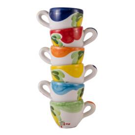 Set 6 Tazzine caffè modello Bar