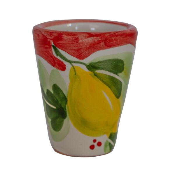 Bicchierino Limoncello Ceramica