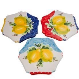 Sottopentola Fiore in Ceramica cm 20