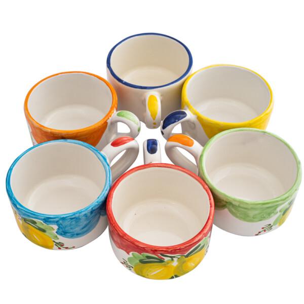 Tazza thè/latte cilindrica decori vari