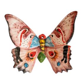 Farfalla in Ceramica da Muro Ischia